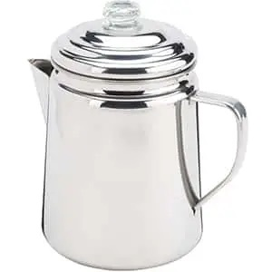 Сoleman Stainless Steel Percolator, 12 Cup